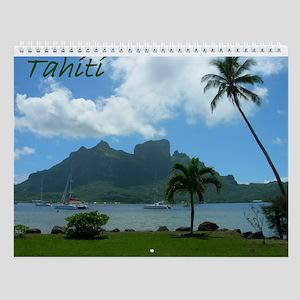Tahiti Wall Calendar
