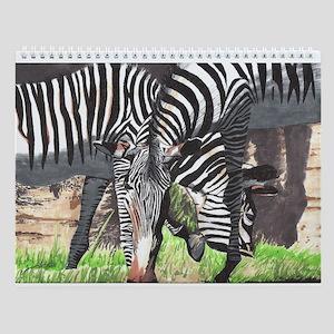 Zebras Wall Calendar
