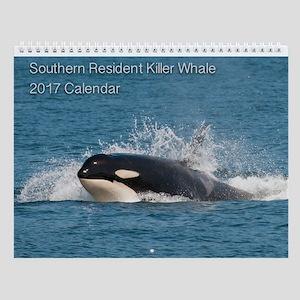 Wall Calendar-Southern Resident Killer Whale
