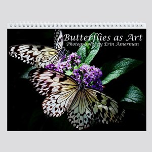Butterflies As Art Wall Calendar