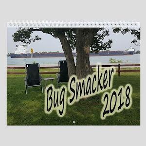 2018 Bug Smacker Wall Calendar