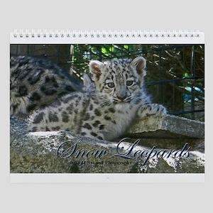Snow Leopards Wall Calendar