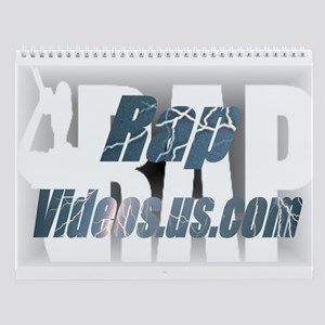 RapVideos.us.com Wall Calendar
