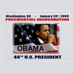 Obama Our 44th President Wall Calendar