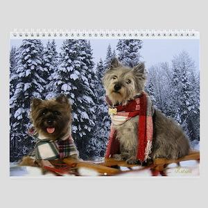 Cairn Terriers Wall Calendar