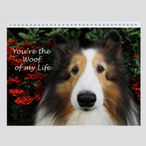 Woof of My Life Wall Calendar