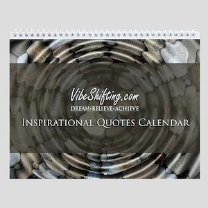 Vibe Shifting Inspirational Quotes Wall Calendar