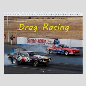 Drag Racing Wall Calendar