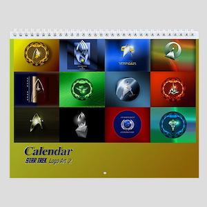 Star Trek Logo Art 2 Wall Calendar