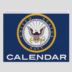 u.s. navy Wall Calendar