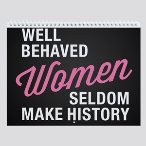 Female Empowerment Wall Calendar