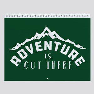 Outdoor Adventure Wall Calendar