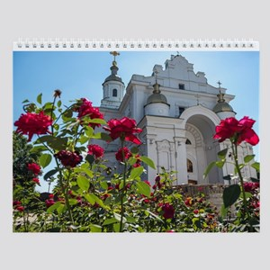 Churches Of Ukraine Wall Calendar