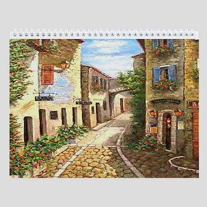 Cultural Art Wall Calendar (12 Designs)