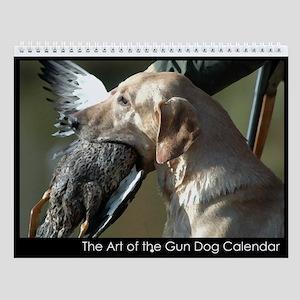 The Art of the Gun Dog Wall Calendar