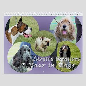 Dog Wall Calendar - Multi-breed