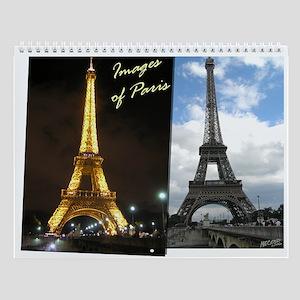 Images of Paris Wall Calendar