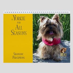 A Yorkie for All Seasons Wall Calendar