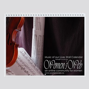 Women's Web Music of Our Lives Wall Calendar