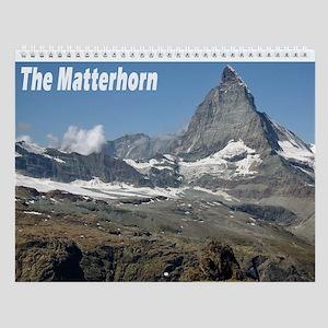 The Matterhorn and Zermatt Wall Calendar