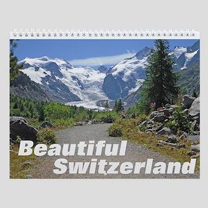 Beautiful Switzerland Wall Calendar