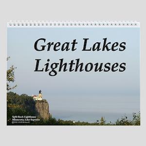 Great Lakes Lighthouse Wall Calendar