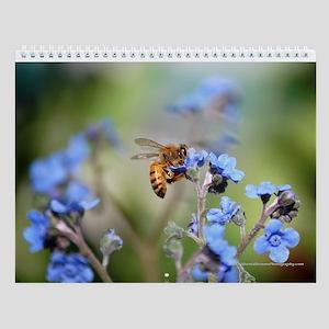 Assorted Flowers Wall Calendar #1