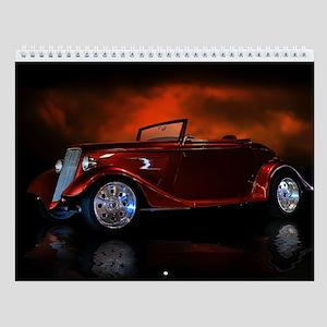 Hot Rod Wall Calendar Convertibles 1