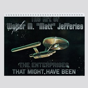 Art of Matt Jefferies Wall Calendar