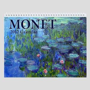 Monet Wall Calendar v3