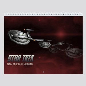 Custom Art Star Trek Wall Calendar