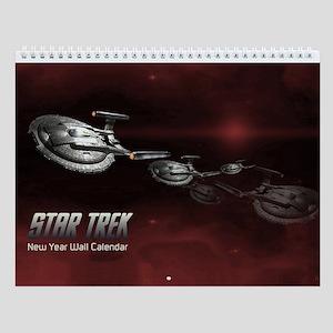 Custom Art Star Trek Wall Calendar