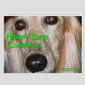 HOUND DOGS Wall Calendar