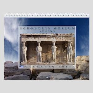 Acropolis Museum Wall Calendar Print 2013