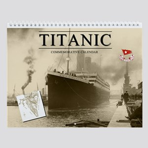 Titanic Commemorative Wall Calendar