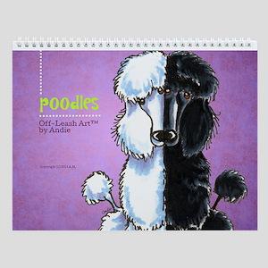 Poodles Off-Leash Art™ Vol 1 Wall Calendar