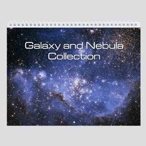 Galaxy and Nebula Collection Wall Calendar