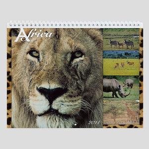 African Wildlife 2014 Wall Calendar