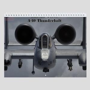 A-10 Thunderbolt Wall Calendar