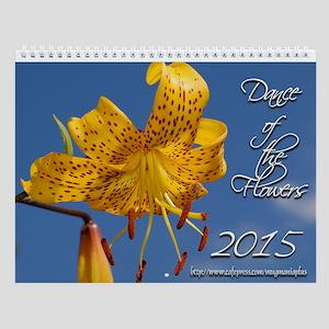 """""""Dance Of The Flowers"""" - Wall Calendar"""