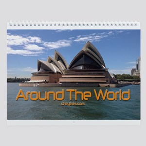 World Traveler Wall Calendar