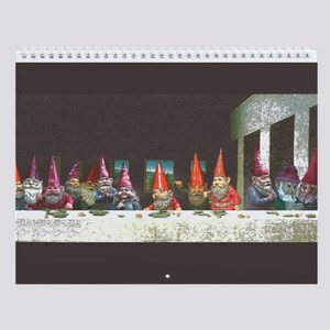 Gnome Last Supper Wall Calendar