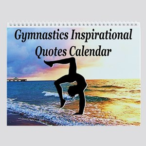 Graceful Gymnast Wall Calendar