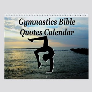 Christian Gymnast Wall Calendar
