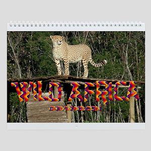 Africa Wild Wall Calendar