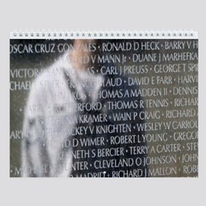VIETNAM MEMORIAL Wall Calendar