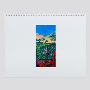 Painted Lady's Paintings- Wall Calendar