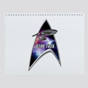 Startrek Command Silver Signia Wall Calendar