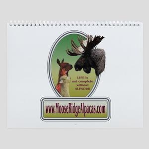 Moose Ridge Logo Wall Calendar