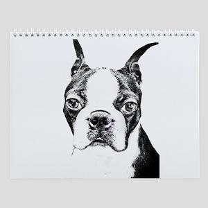 BOSTON TERRIER - DOG Wall Calendar